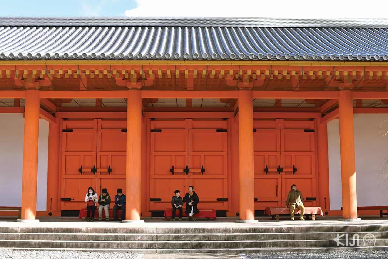 วัดซันจูซันเก็นโด เที่ยววัดในเกียวโต