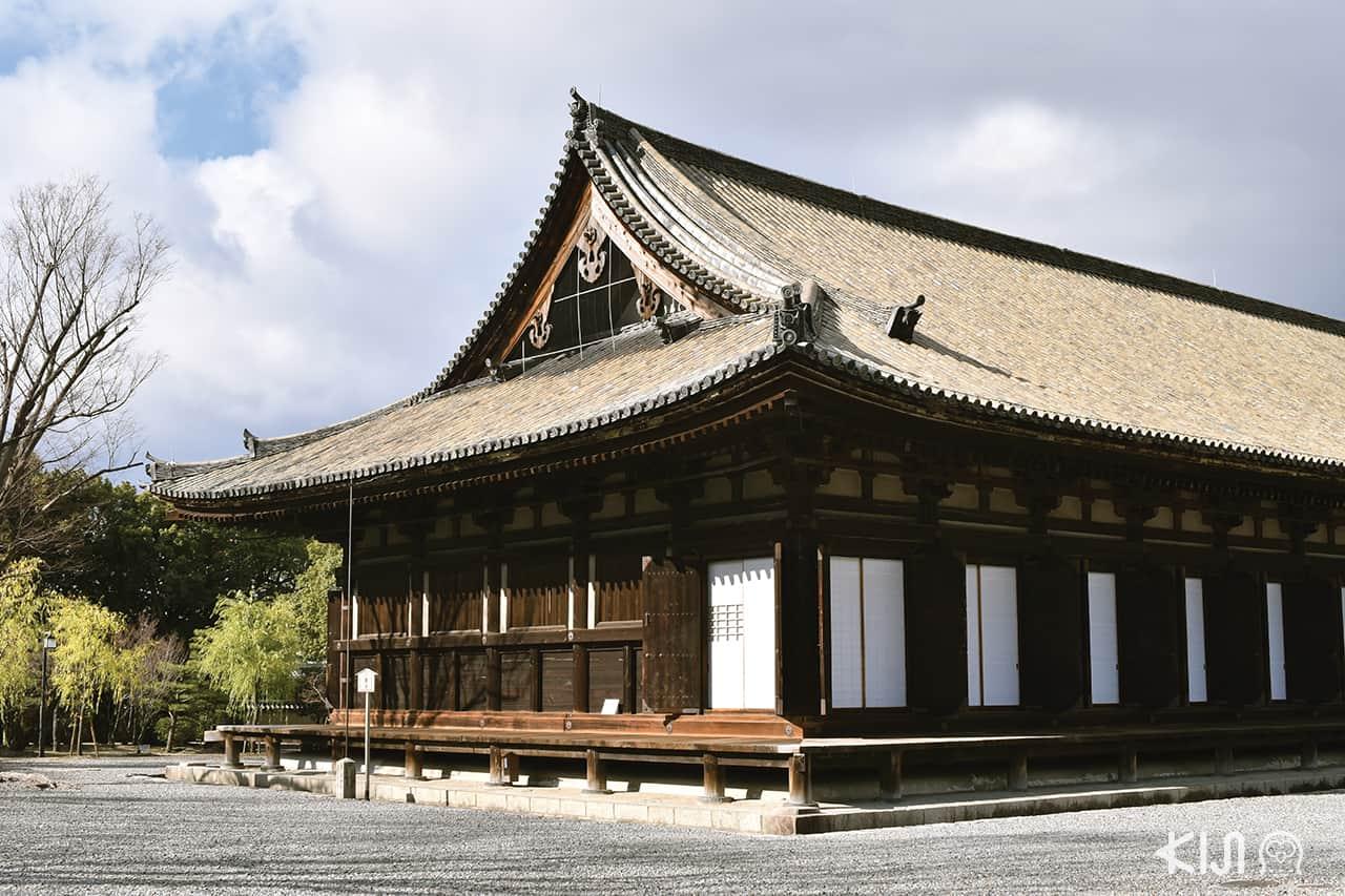 วัดซันจูซันเก็นโด (Sanjusangendo Temple) เกียวโต เทศกาลปีใหม่