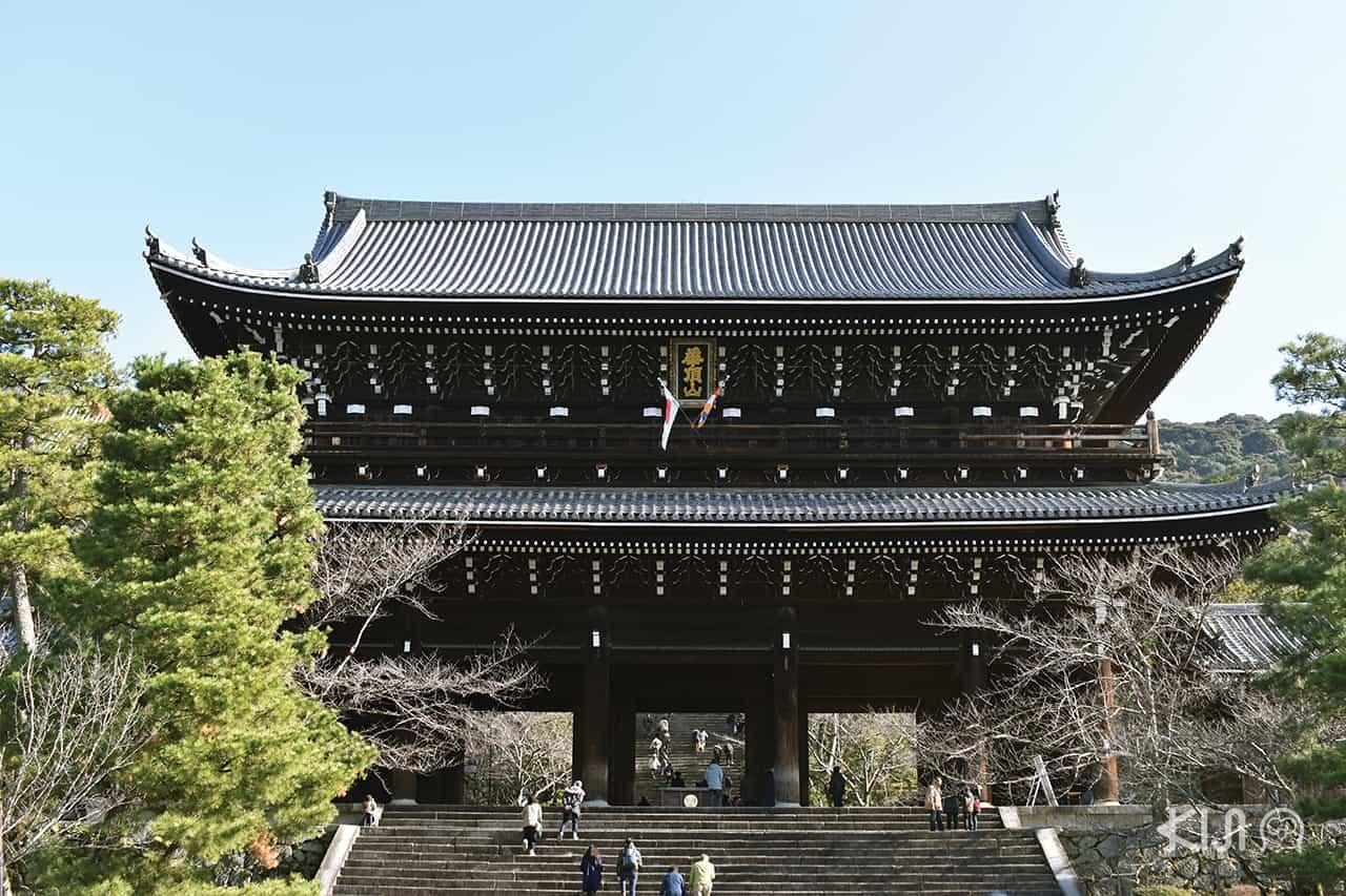 เที่ยว เกียวโต ช่วง ปีใหม่ ที่ วัดชิออนอิน (Chion-in Temple)