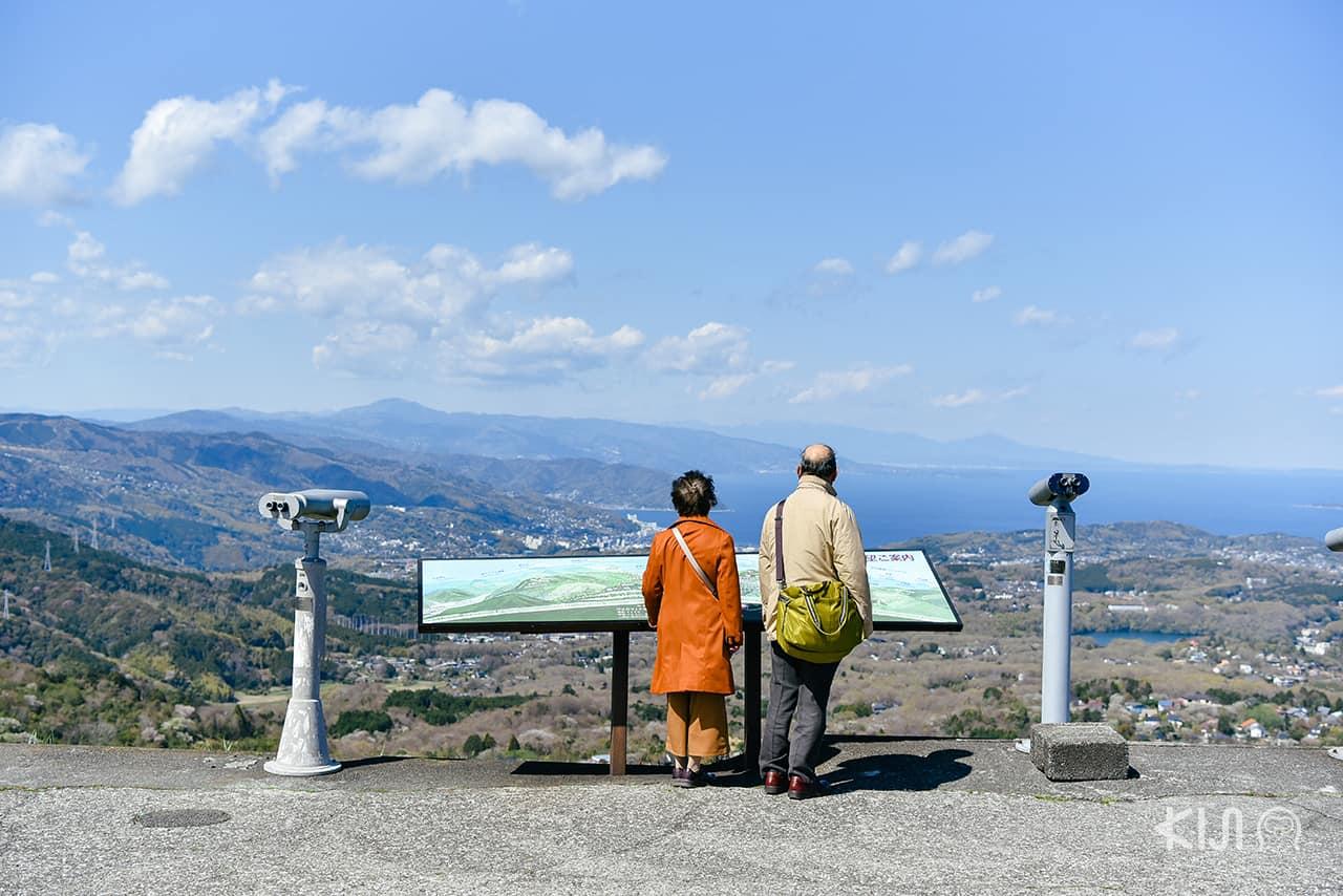 ชมวิวเมืองชิซูโอกะ ที่ ภูเขาโอมูโระ (Mt.Omuroyama)
