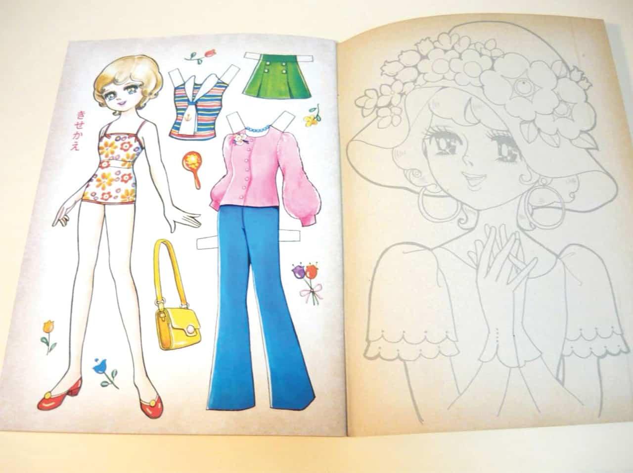 """""""คิเซคาเอะนินเกียว"""" (Kisekae Ningyo) สมุดตุ๊กตากระดาษของญี่ปุ่น"""