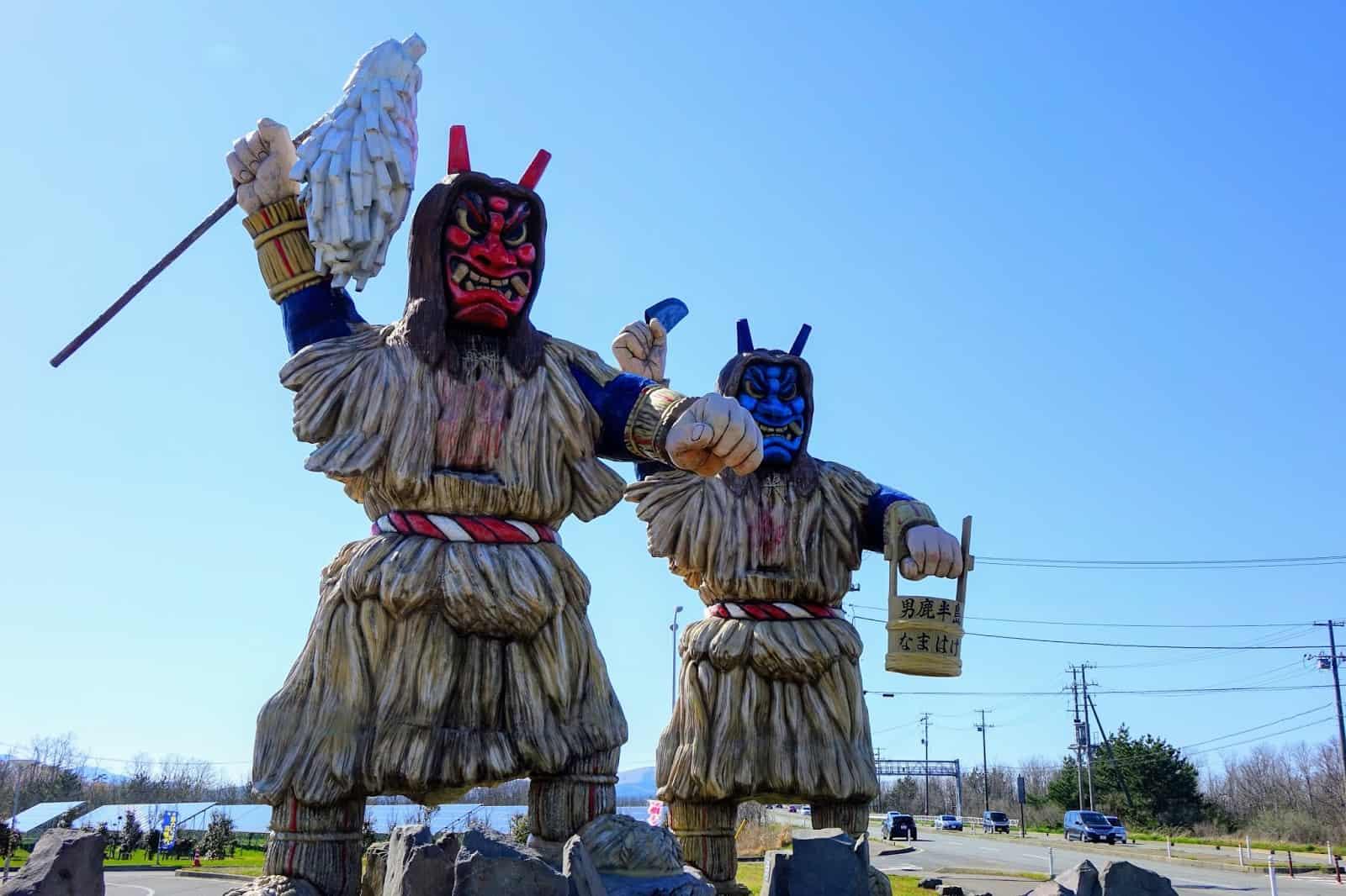 เที่ยว อาคิตะ (Akita) ที่ เมืองโองะ (Oga : 男鹿市)