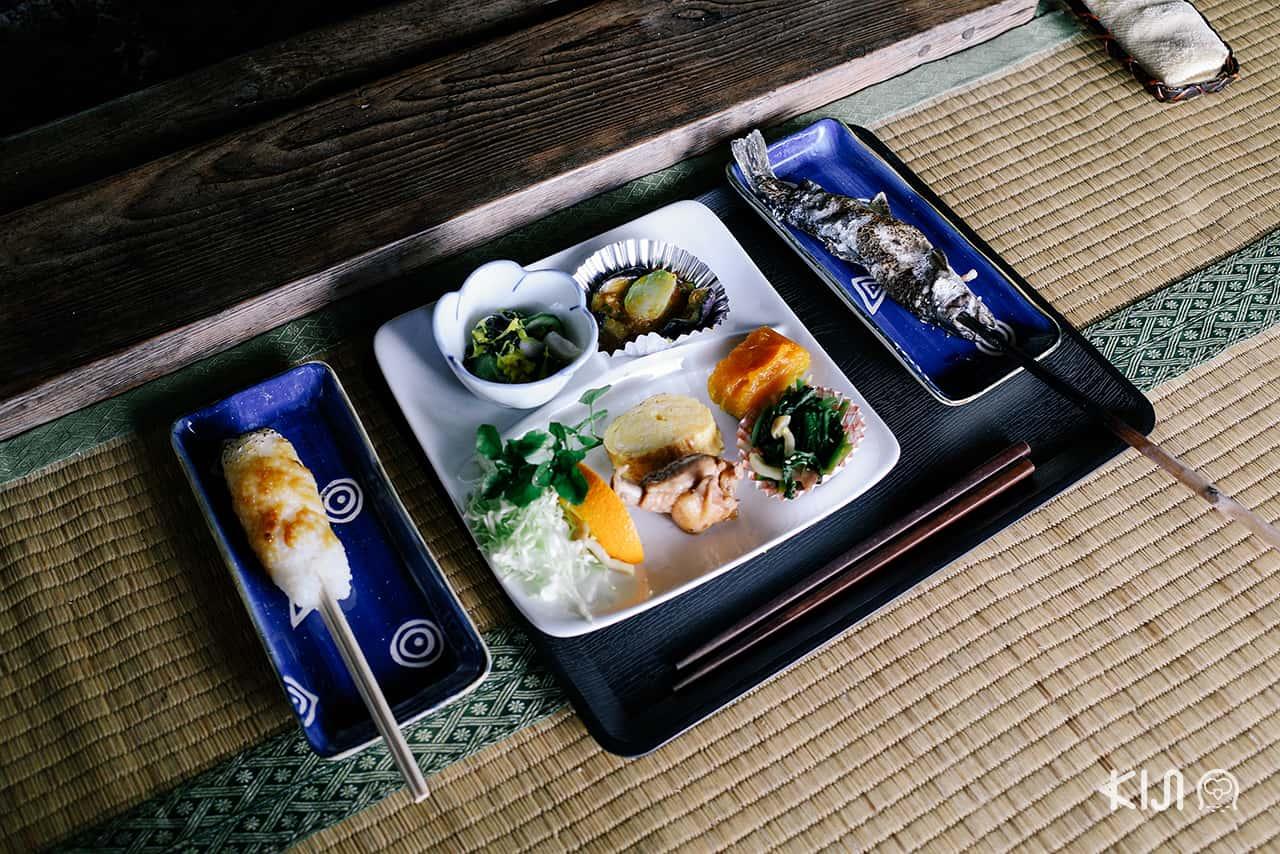 เซ็ทอาหารของ Kamado Farmstay , Akita