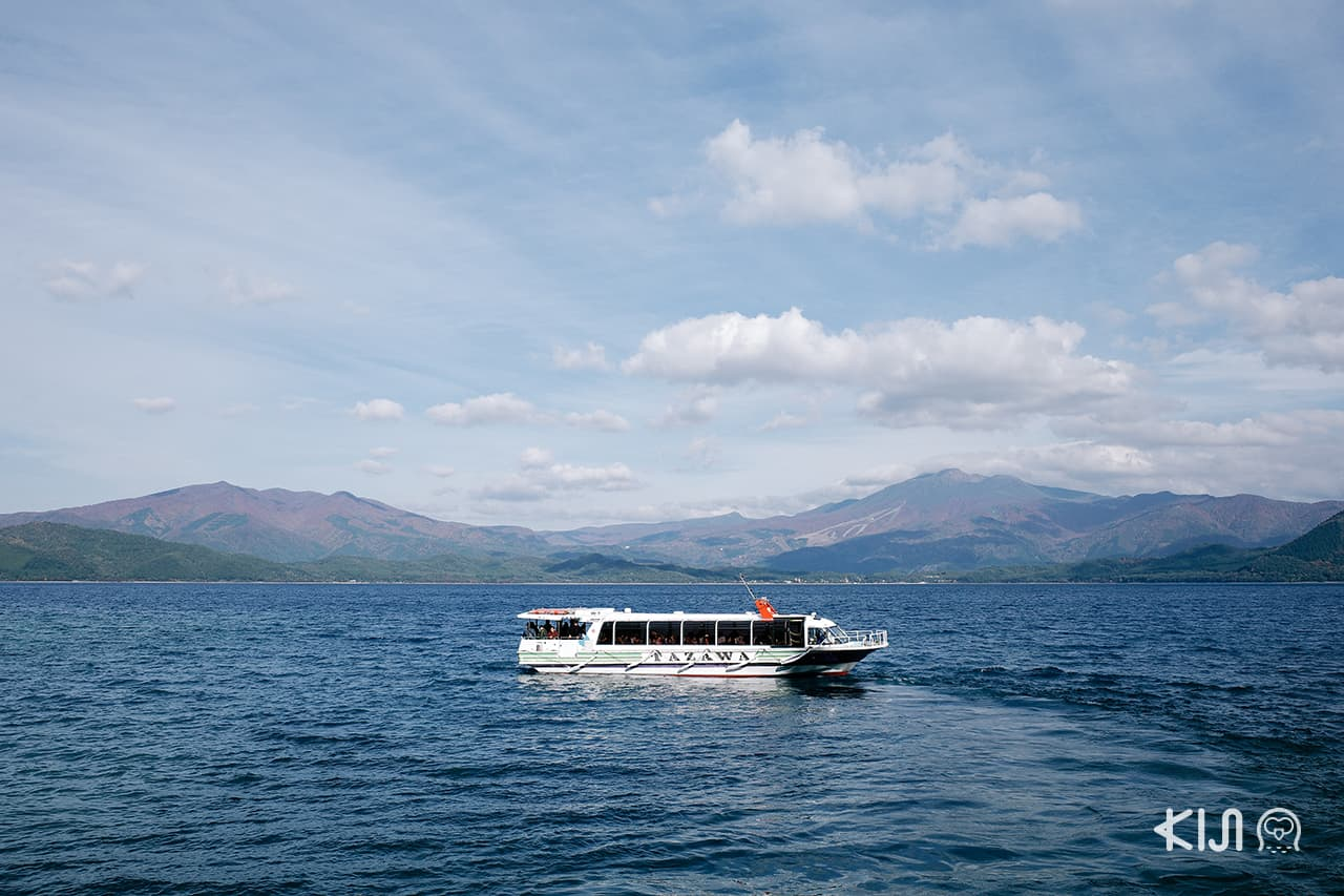 Tazawa Boat Tour ล่องเรือชม ทะเลสาบทาซาวะ