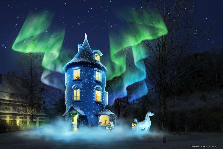 Winter Wonderland in Moomin Valley Park อีเว้นท์ในจังหวัดไซตามะ