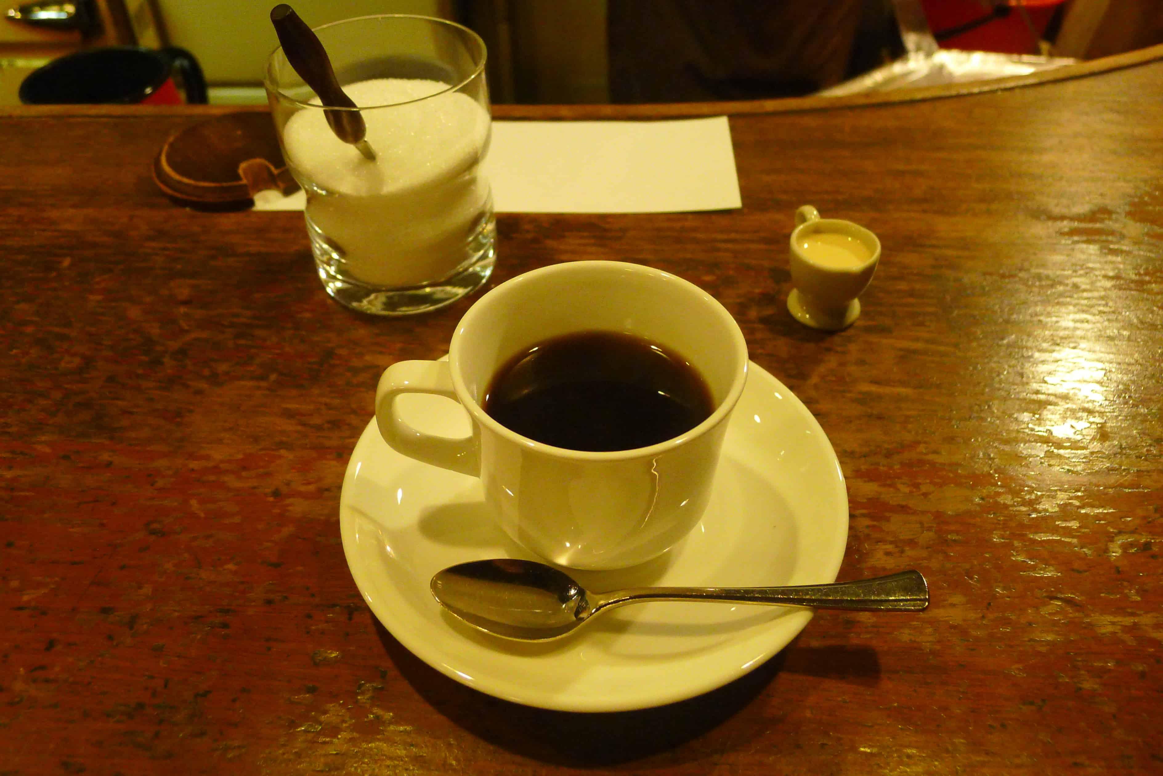 Café de l'ambre, Ginza