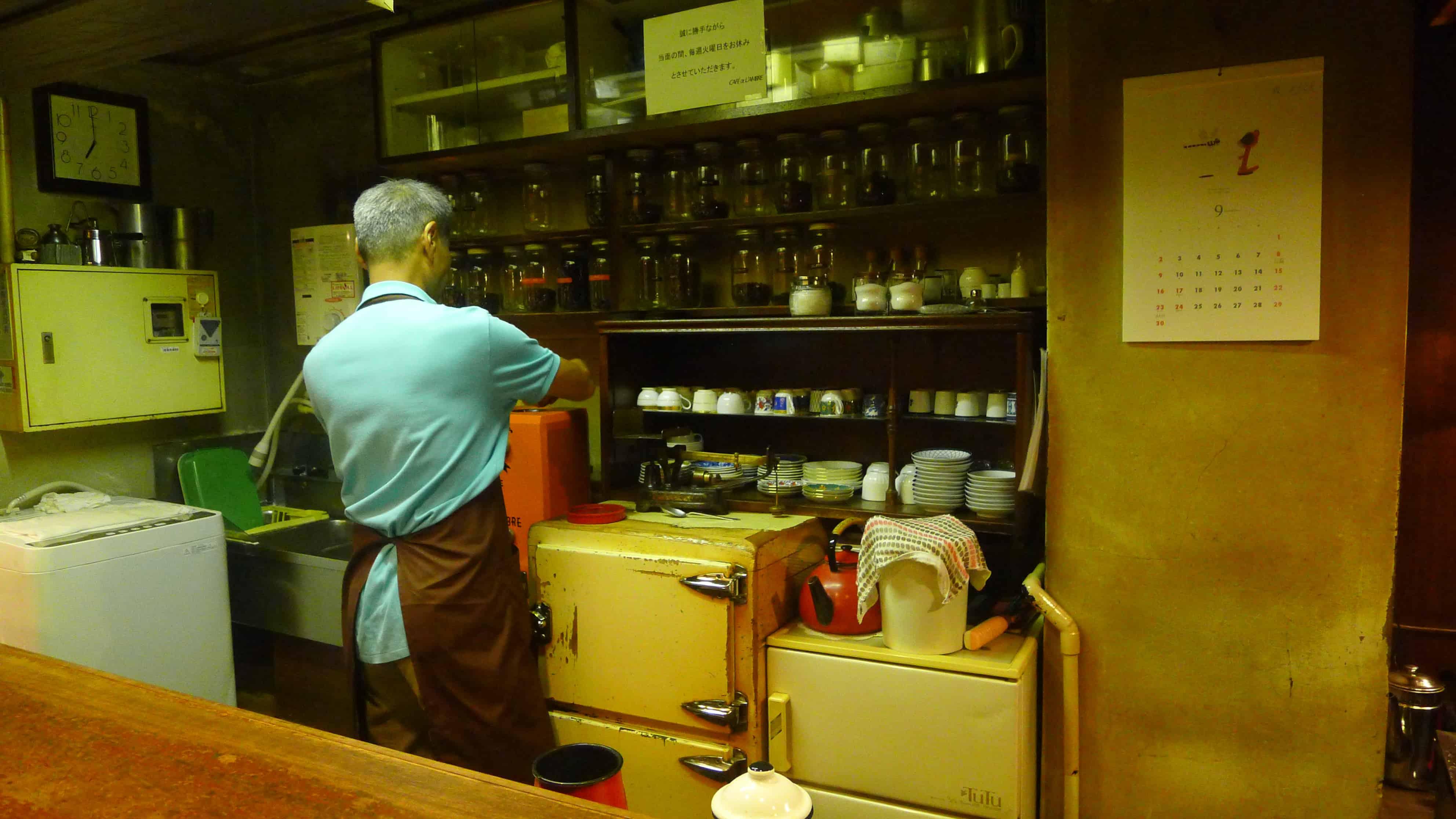 คาเฟ่โตเกียว Café de l'ambre รีวิว