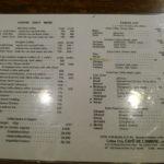 cafe de lambre-menu-tokyo-japan