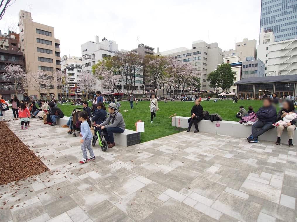 สวนสาธารณะ โตเกียว (Tokyo)