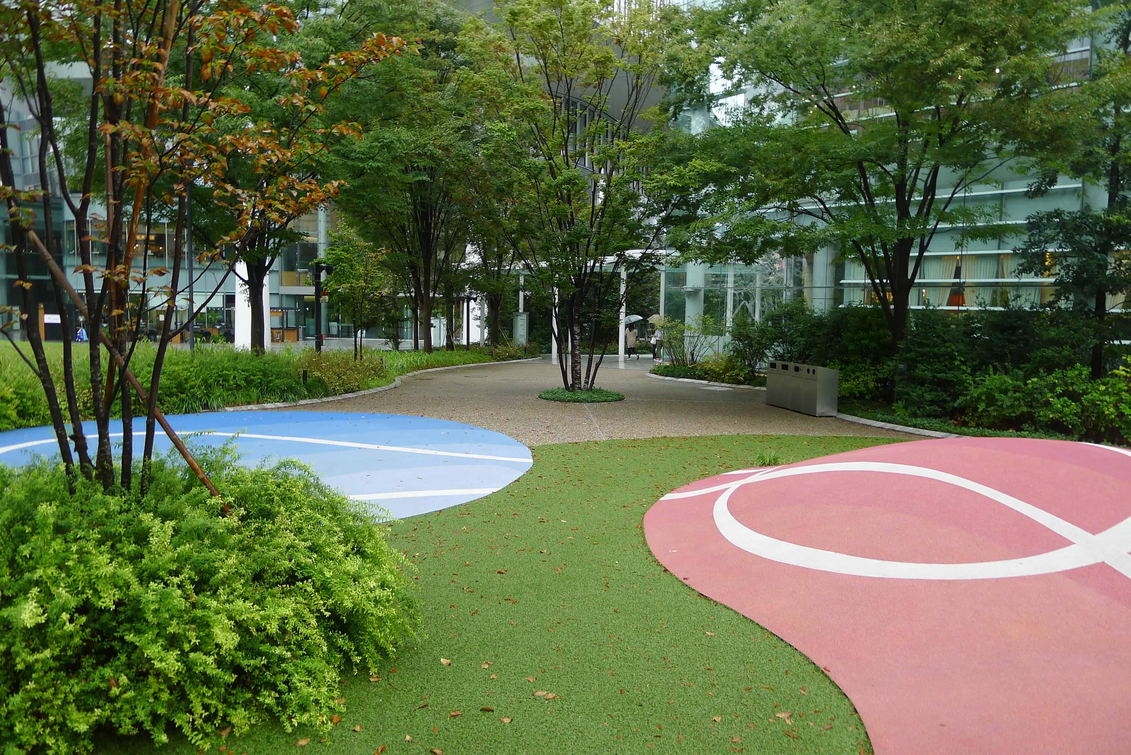 สวนสาธารณะขนาดเล็กในโตเกียว (Tokyo)