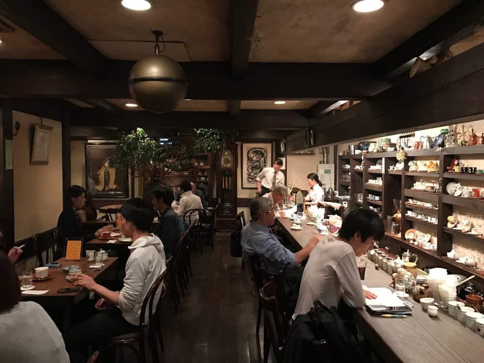 คาเฟ่ย้อนยุค โตเกียว (Tokyo) - Satei Hato