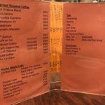 satei hato coffee shop-menu-shibuya-tokyo-japan