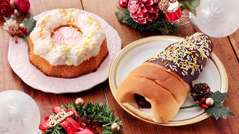 LAWSON STORE สปันค์เค้กและขนมปัง