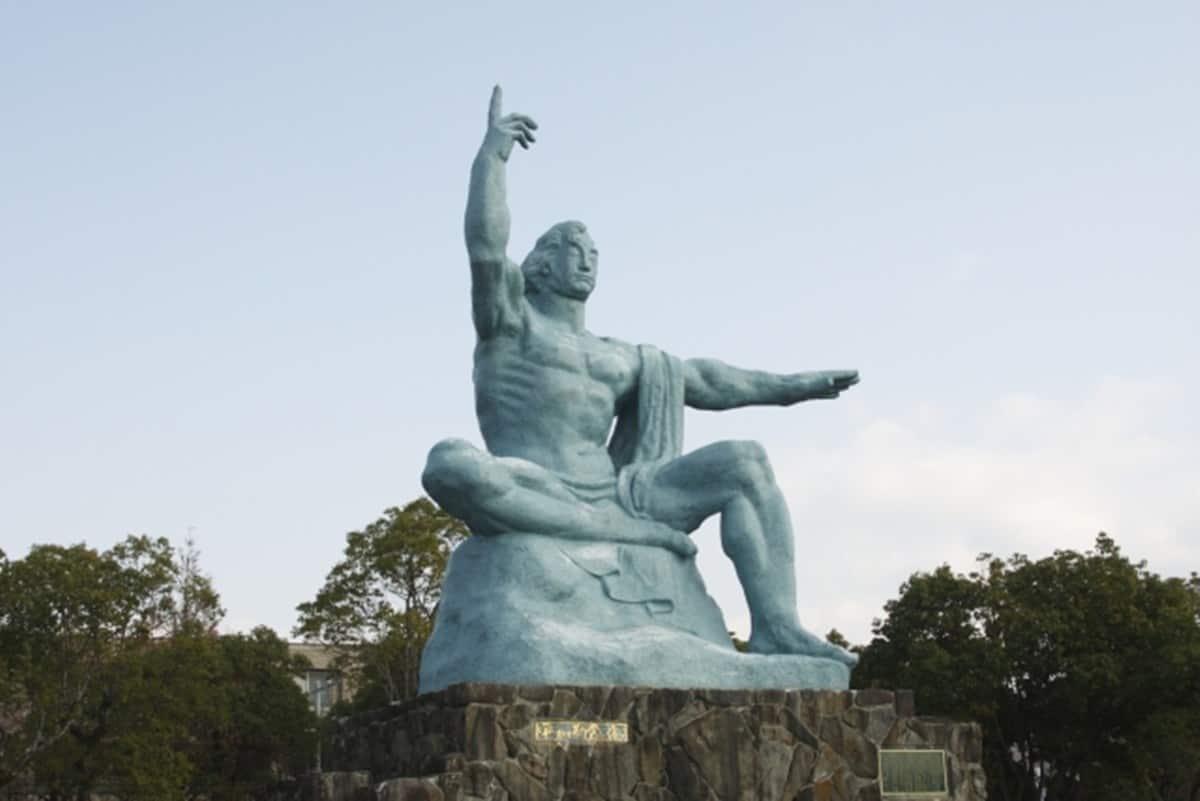 ที่เที่ยวในนางาซากิ - สวนสันติภาพ (Peace Park)