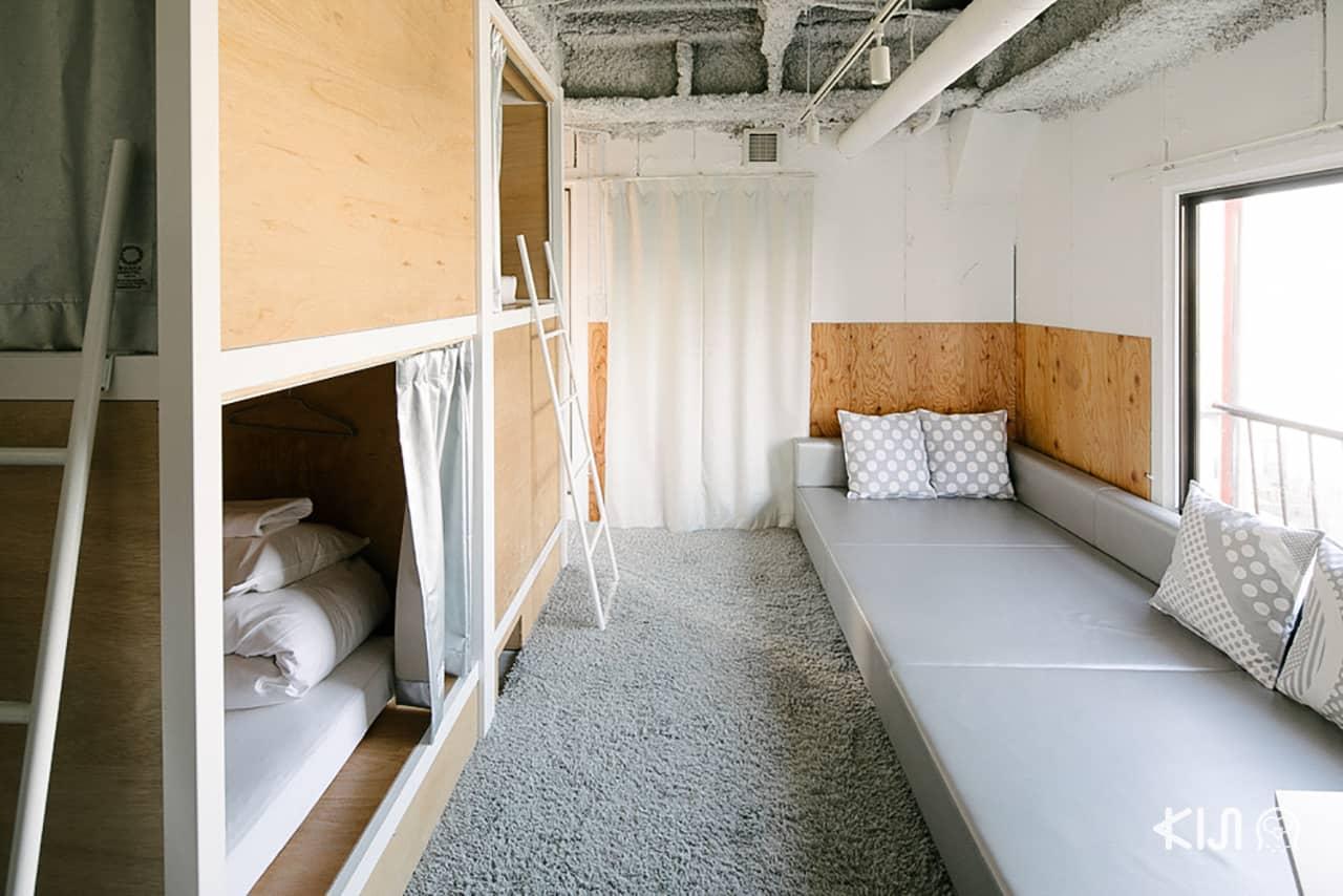 Bunka Hostel Tokyo รีวิว