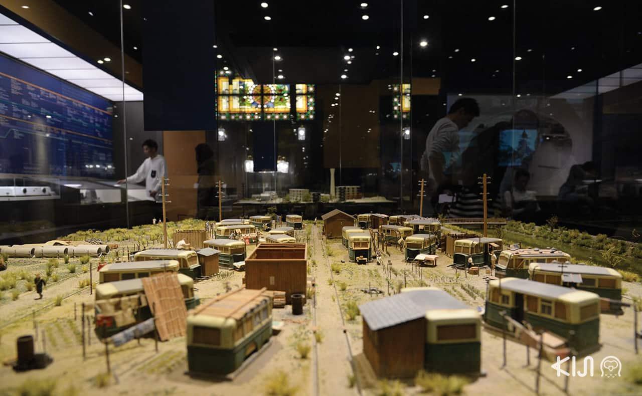 Osaka Museum of Housing and Living รถที่ถูกนำมาดัดแปลง