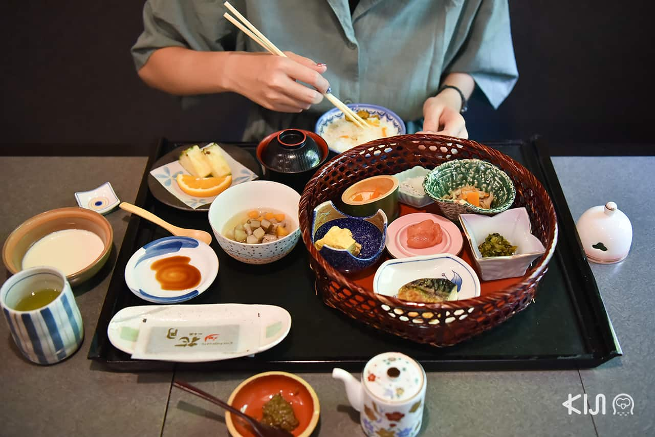 อาหาร ของ โรงแรม Shousenkaku Kagetsu