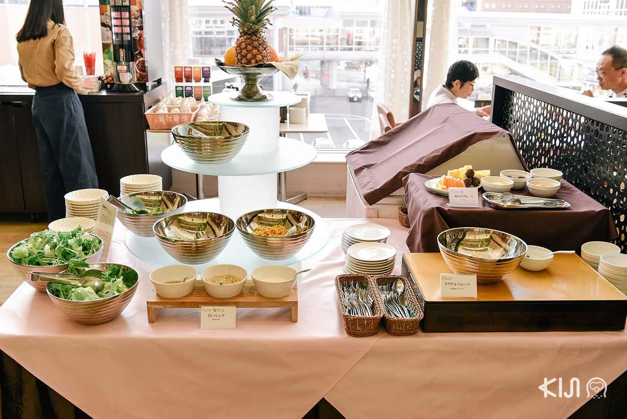 ็Hotel Metropolitan Akita อาหารหน้าตาแสนอร่อยที่ต้องไม่พลาด