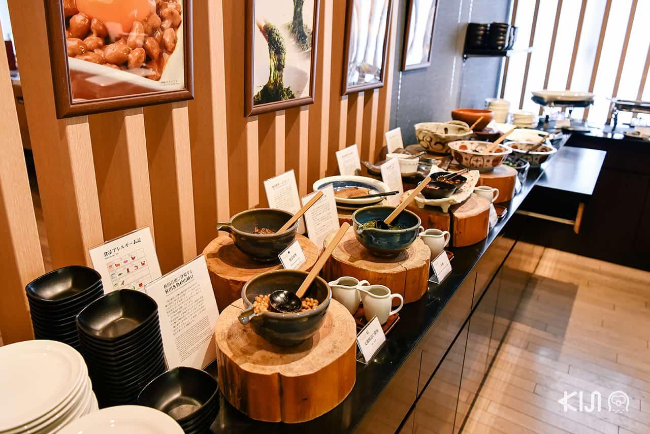 ็Hotel Metropolitan Akita อาหารสไตล์ฟิวชั่นเป็นอาหารอีกสไตล์หนึ่งให้เลือกรับประทานได้