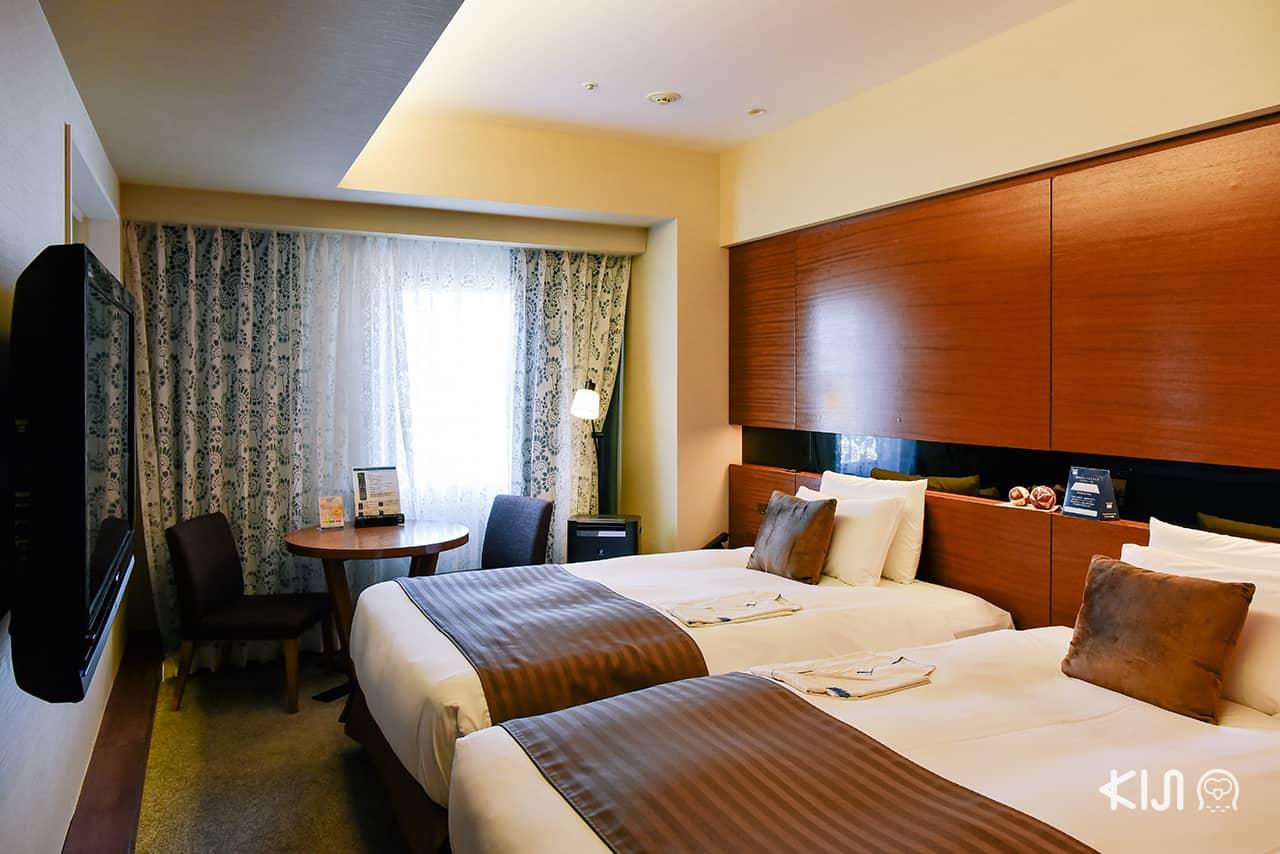 ็Hotel Metropolitan Akita ห้องพักที่เหมาะมาพักกับเพื่อน