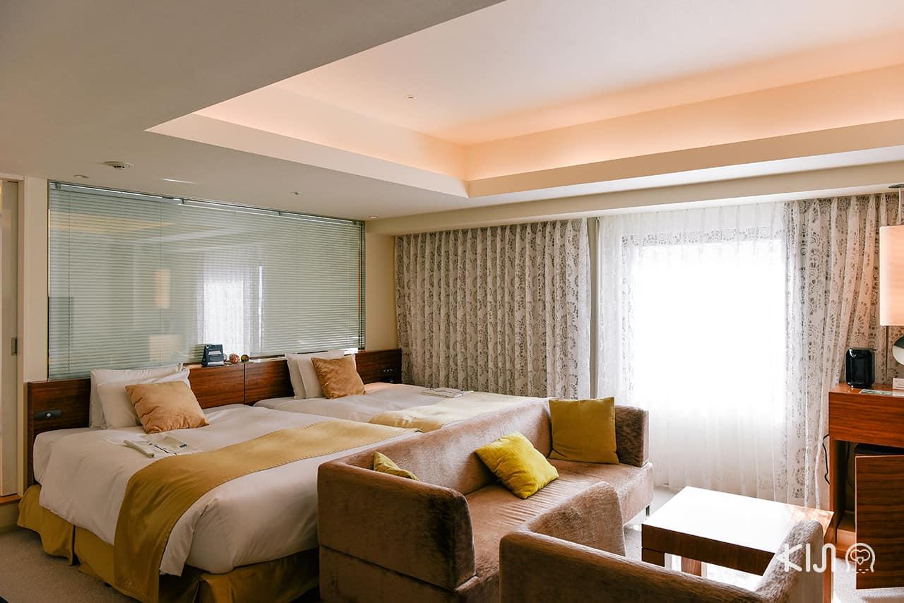 ็Hotel Metropolitan Akita ห้องพักที่ให้ความรู้สึกเหมือนคอนโด