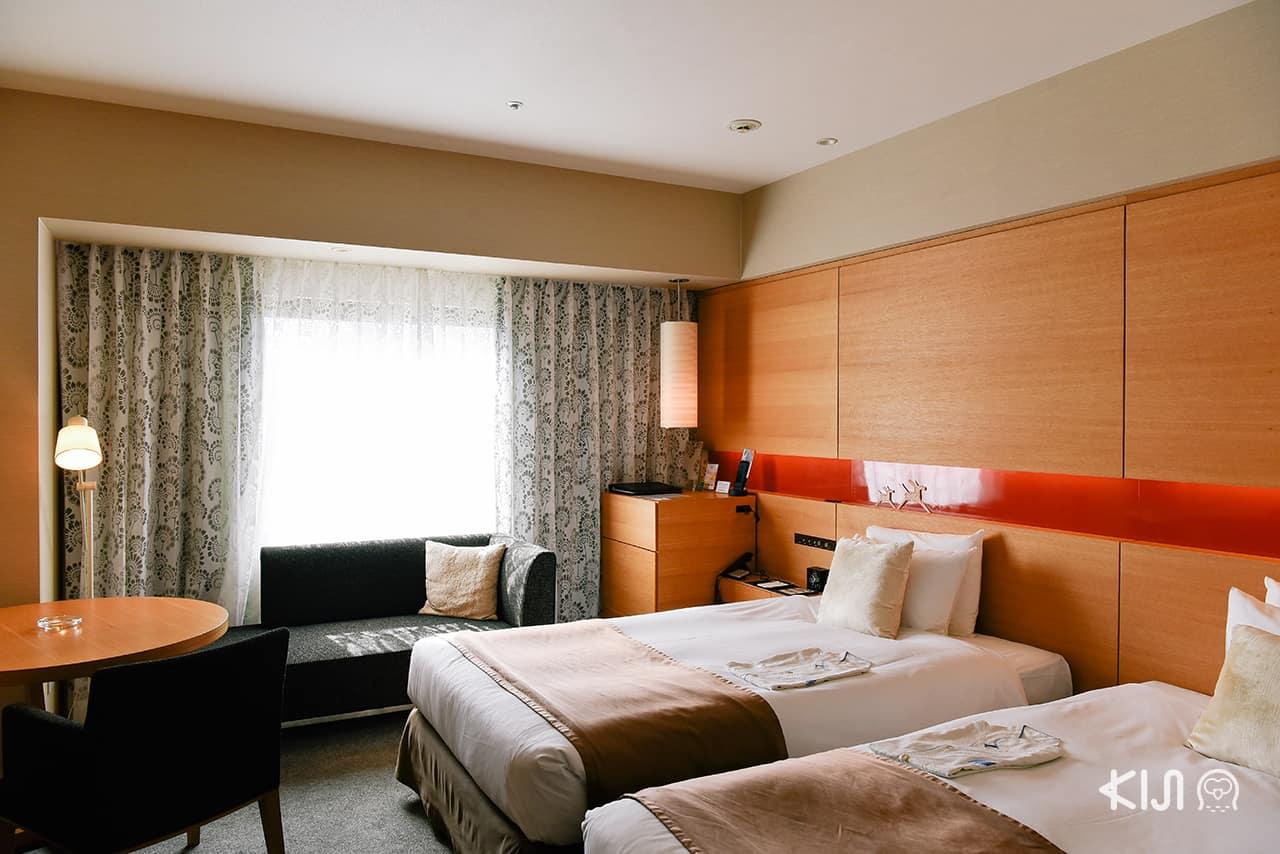 ็Hotel Metropolitan Akita ห้องพักที่มาเป็นครอบครัวก็สามารถพักได้
