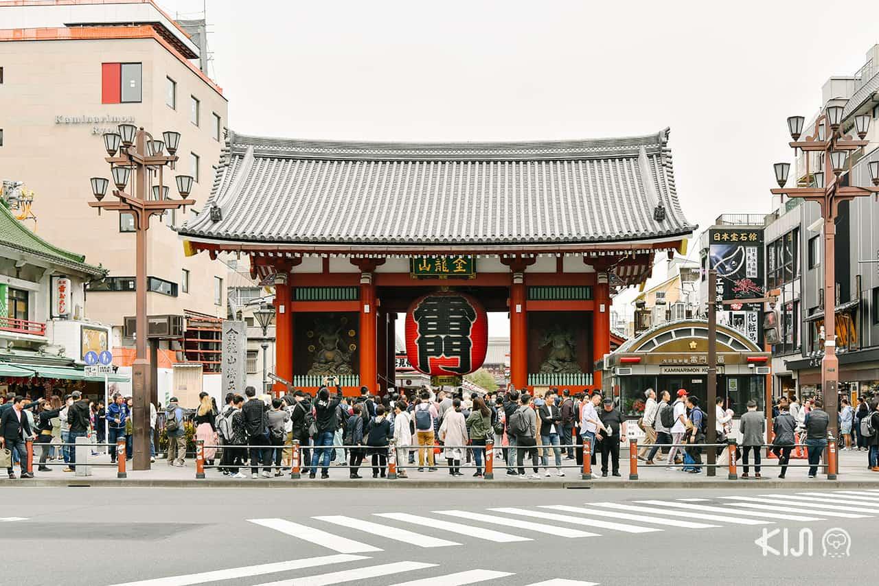 เที่ยว อาซากุสะ - วัดเซ็นโซจิ (Sensoji Temple)