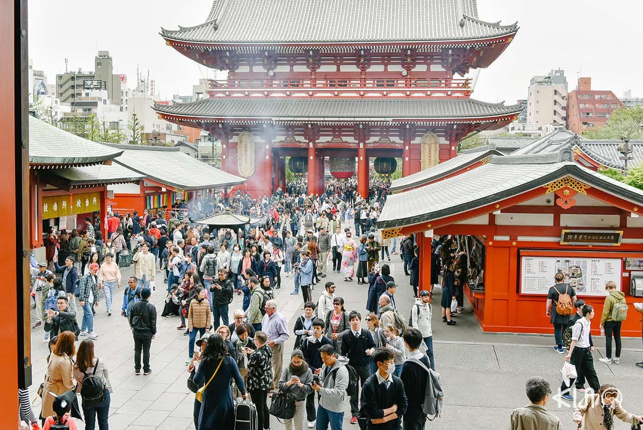 ที่เที่ยวอาซากุสะ - วัดเซ็นโซจิ (Sensoji Temple)