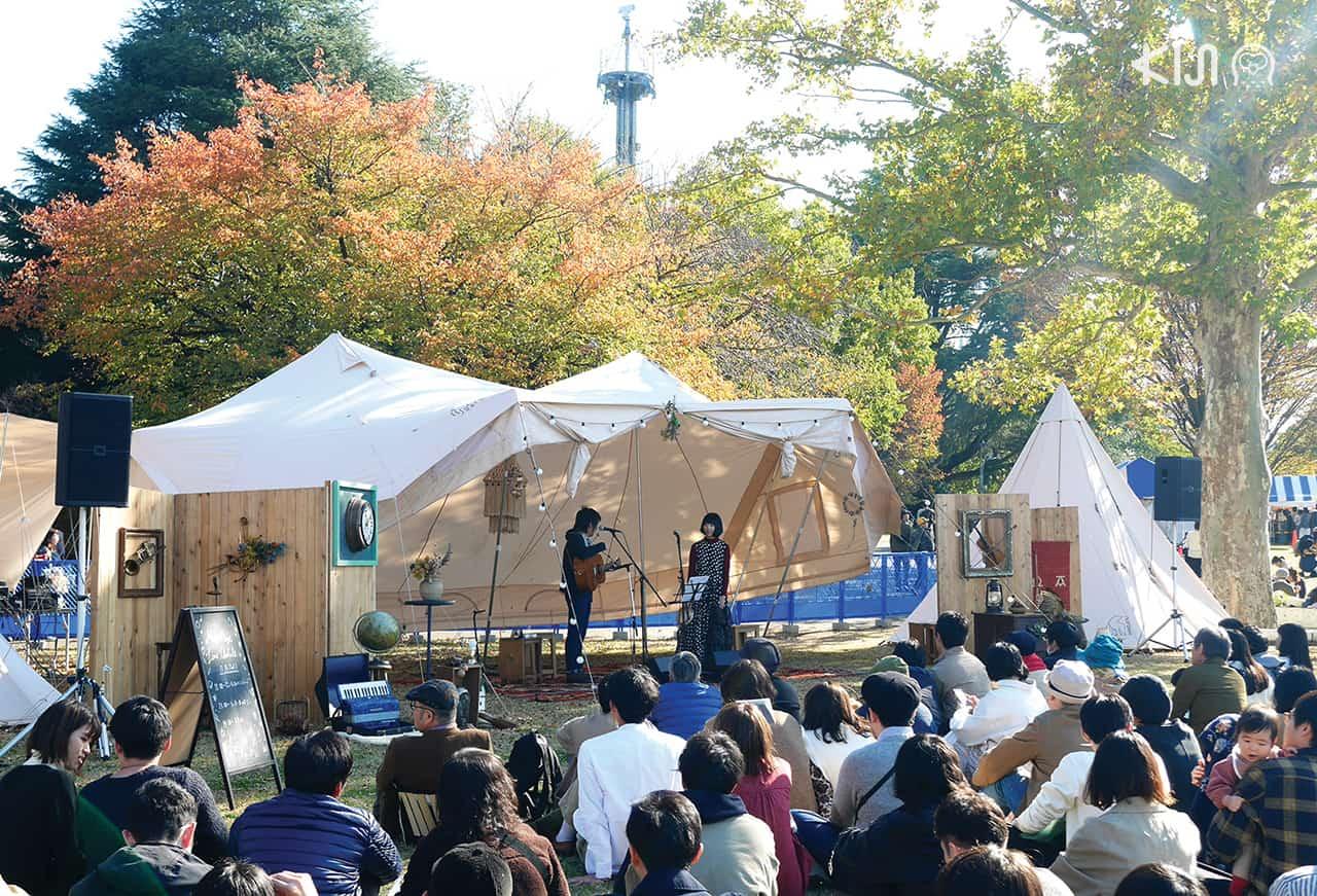 tokyo nominoichi มินิคอนเสิร์ต