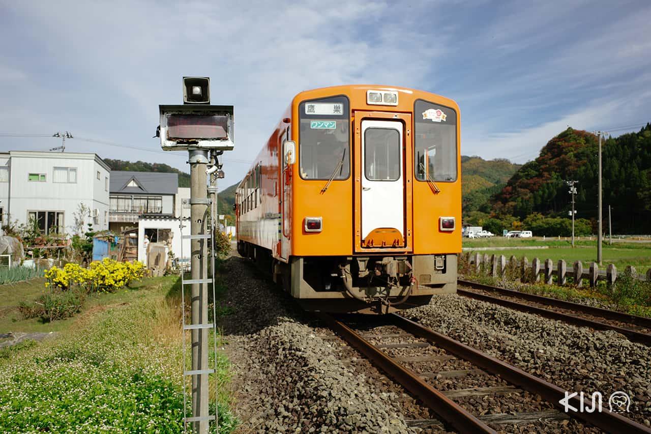 รถไฟสายอาคิตะไนริคุ (Akita Nairiku Line) เที่ยวเมือง เซมโบกุ