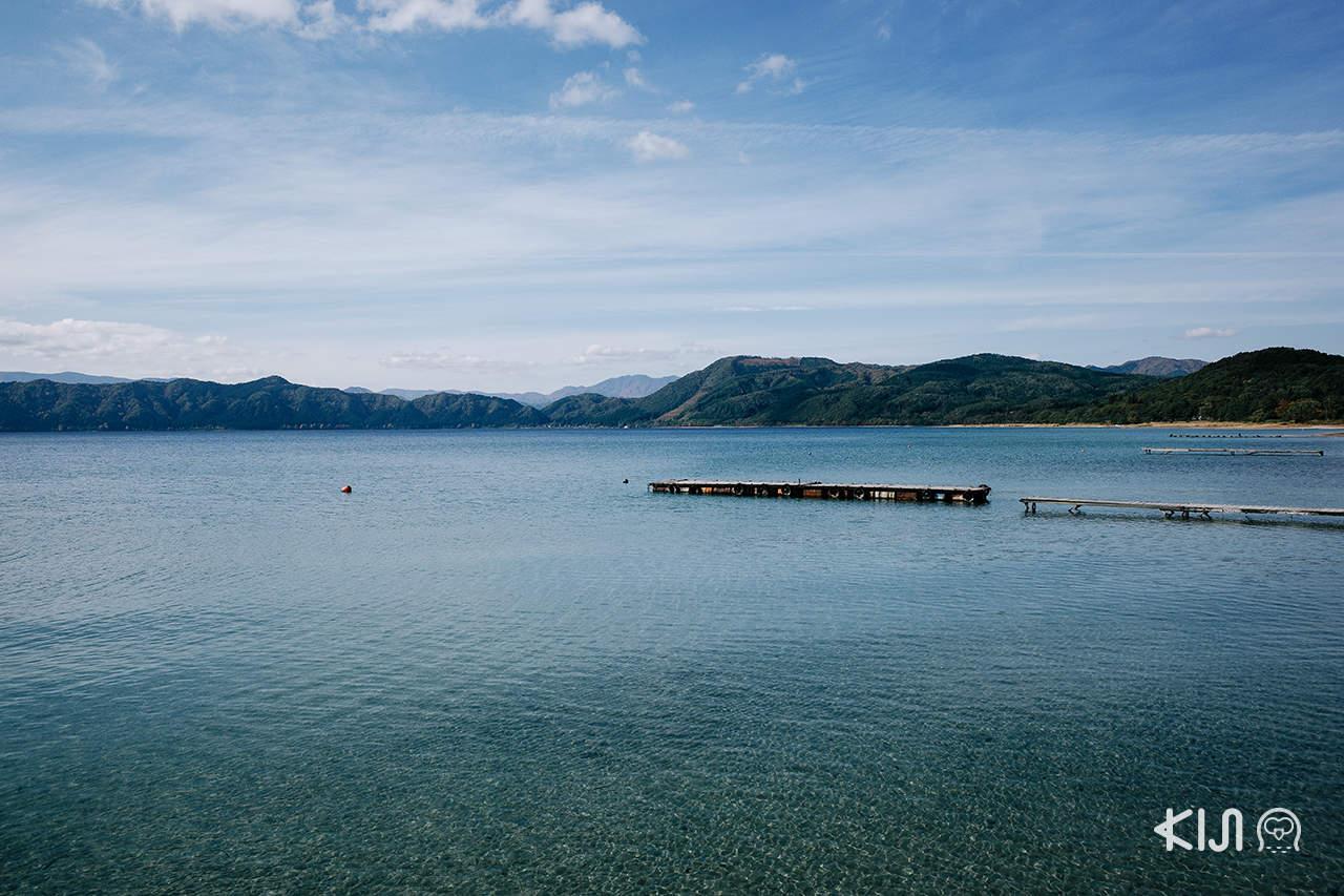 ทะเลสาบทาซาวะ (Lake Tazawa) เซมโบกุ (Semboku)