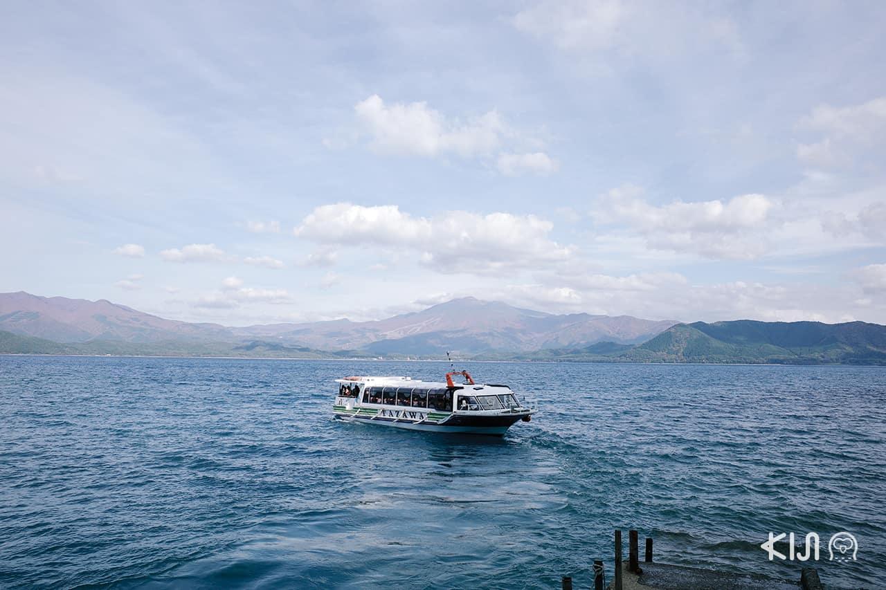 ทัวร์ล่องเรือ ที่ ทะเลสาบทาซาวะ (Lake Tazawa) เซมโบกุ (Semboku)
