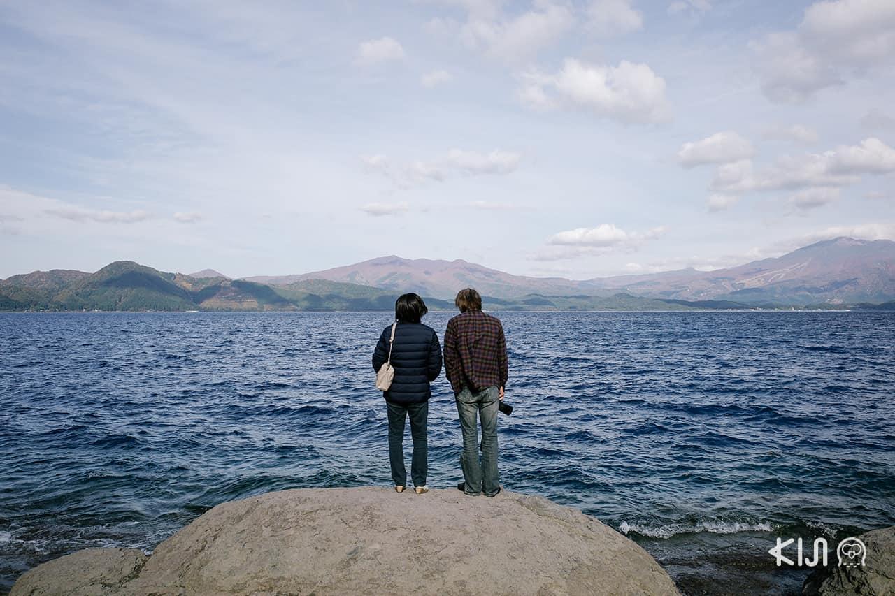 เที่ยว เซมโบกุ (Semboku) ที่ ทะเลสาบทาซาวะ (Lake Tazawa)