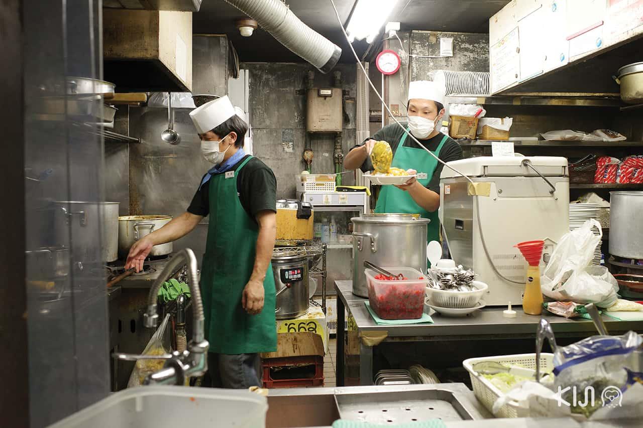 ร้าน Bandai Soba จ.นีงาตะ (Niigata)