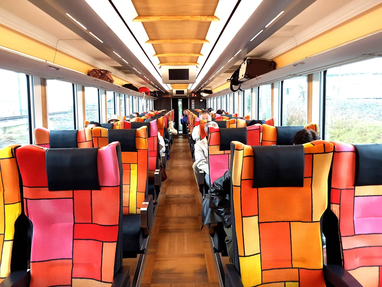 รถไฟรีสอร์ทชิราคามิ