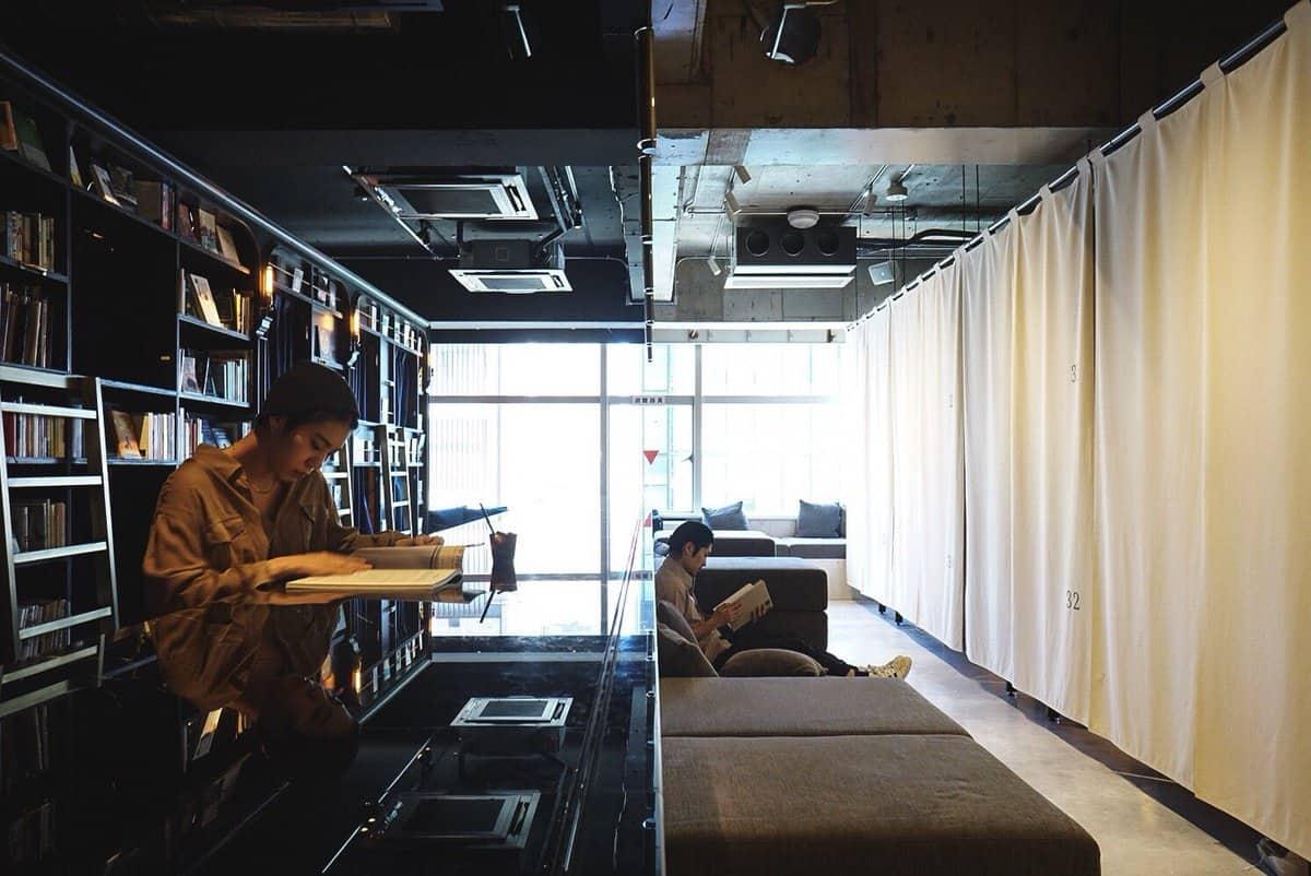 โฮสเทลย่านอาซากุสะ - Book and Bed Tokyo Asakusa