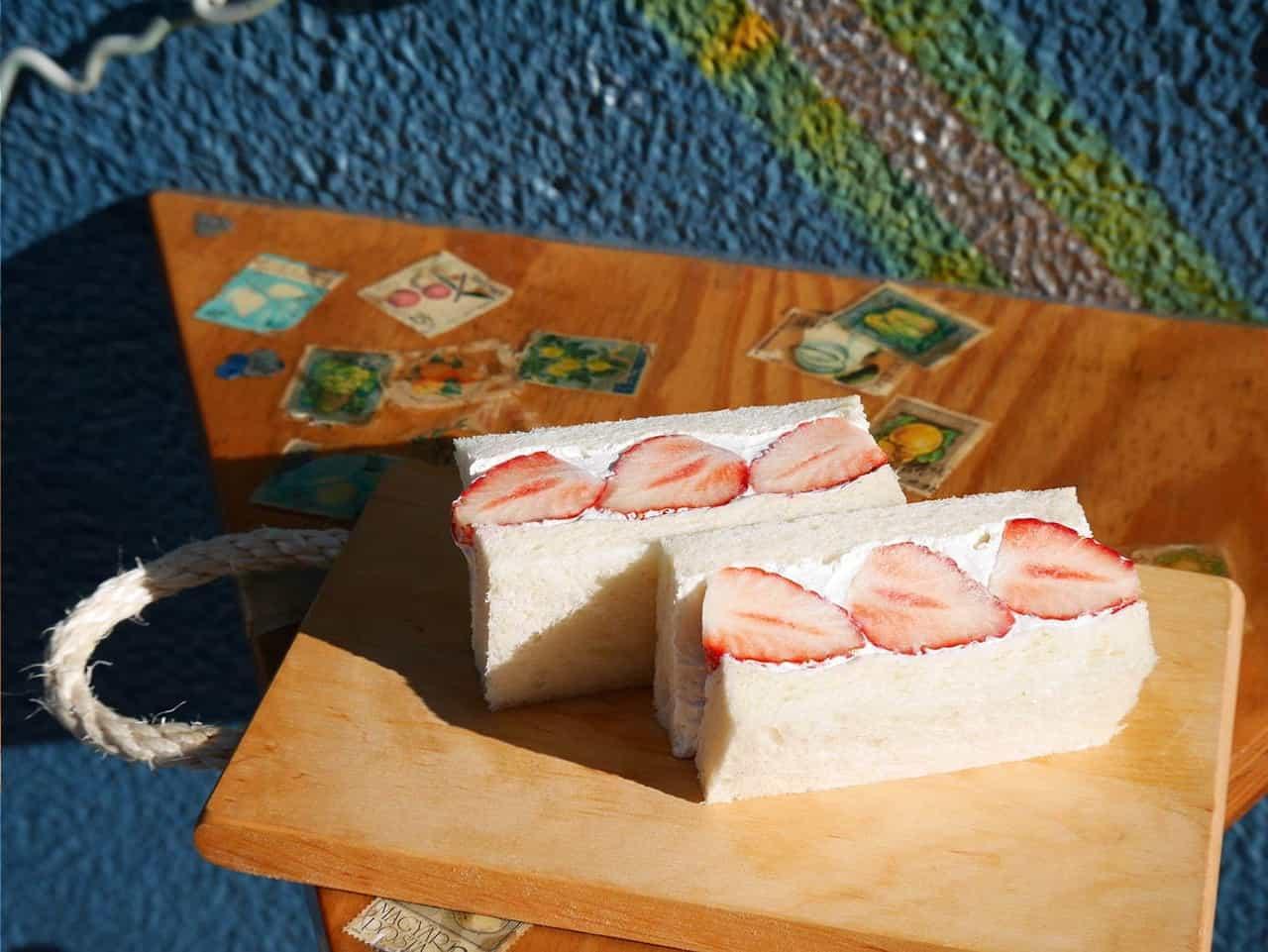 Futsuuni Furuutsu ขนมปังสอดไส้สตรอว์เบอร์รี่