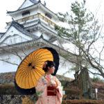 japan edo village-kitsuki castle-oita prefecture-japan