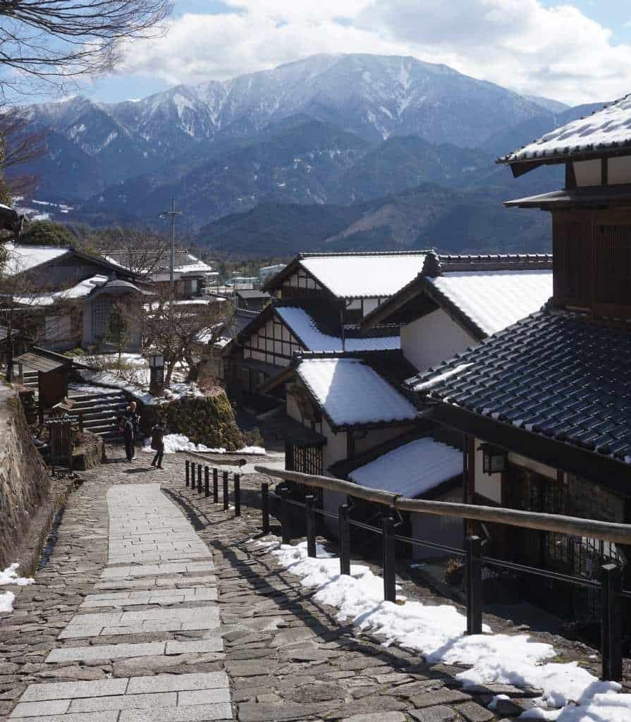 Magome-juku หมู่บ้านโบราณญี่ปุ่น