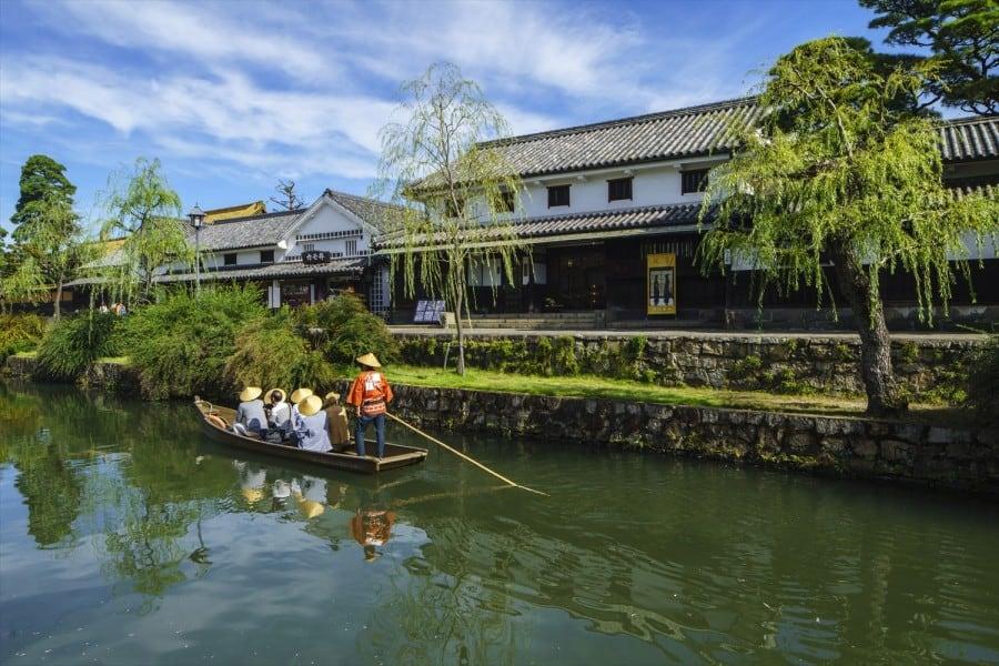 เที่ยว Kurashiki หมู่บ้านโบราณญี่ปุ่น