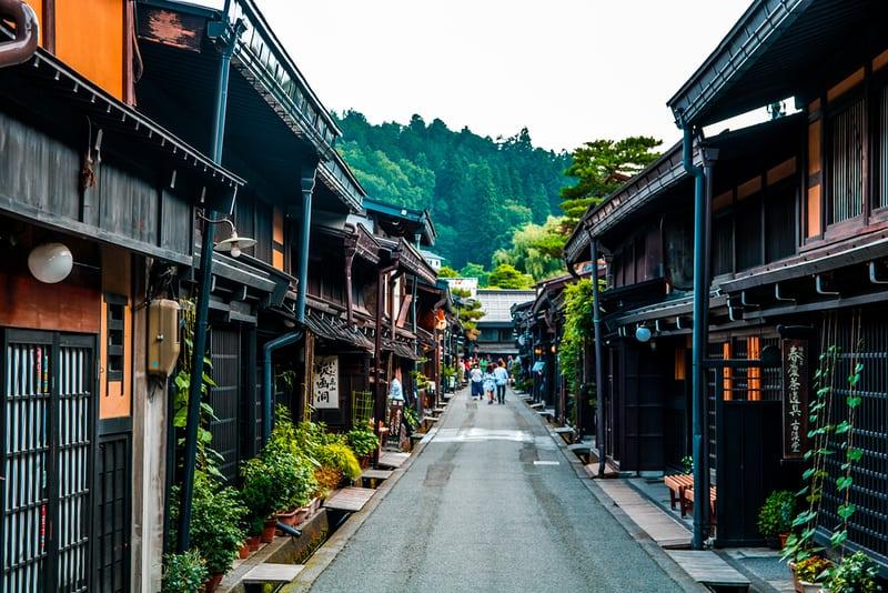 ทาคายาม่า หมู่บ้านโบราณญี่ปุ่น บรรยากาศเอโดะ