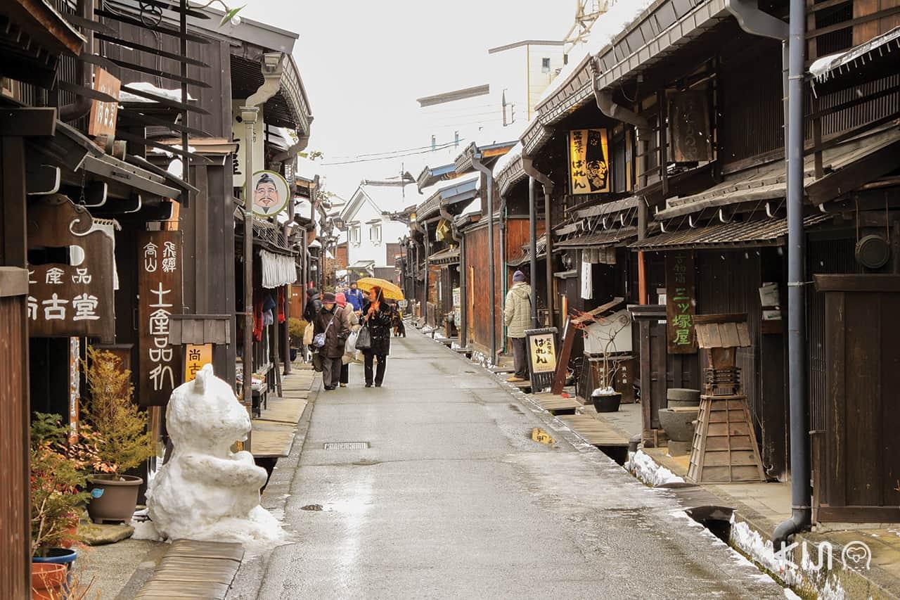 ทาคายาม่า หมู่บ้านโบราณญี่ปุ่น