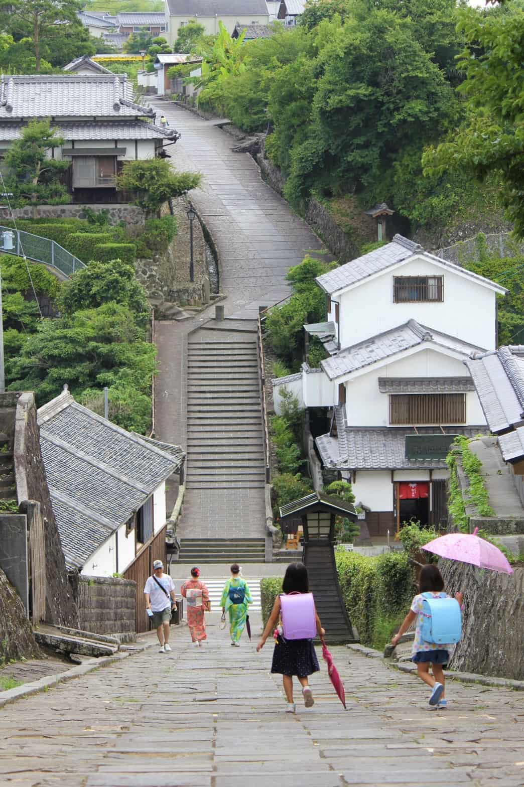 Kitsuki หมู่บ้านโบราณญี่ปุ่น