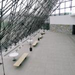 moerenuma park-hidamari pyramid architecture-sapporo-hokkaido-japan