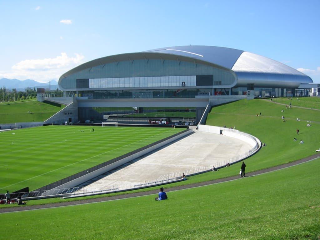 Sapporo บริเวณรอบๆสนามกีฬา