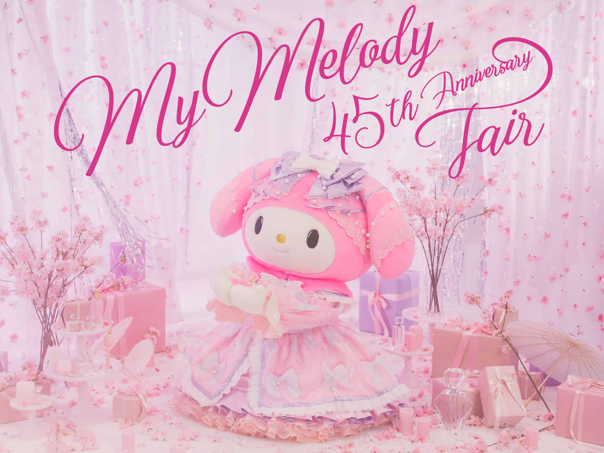 งาน My Melody 45th Anniversary Fair