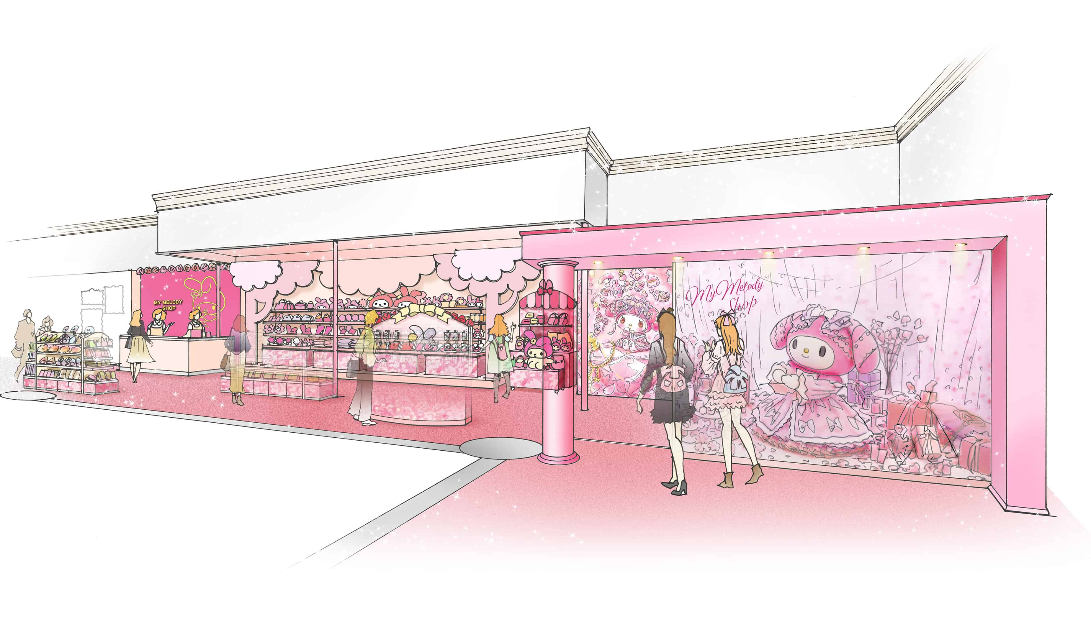 My Melody 45th Anniversary Fair ที่
