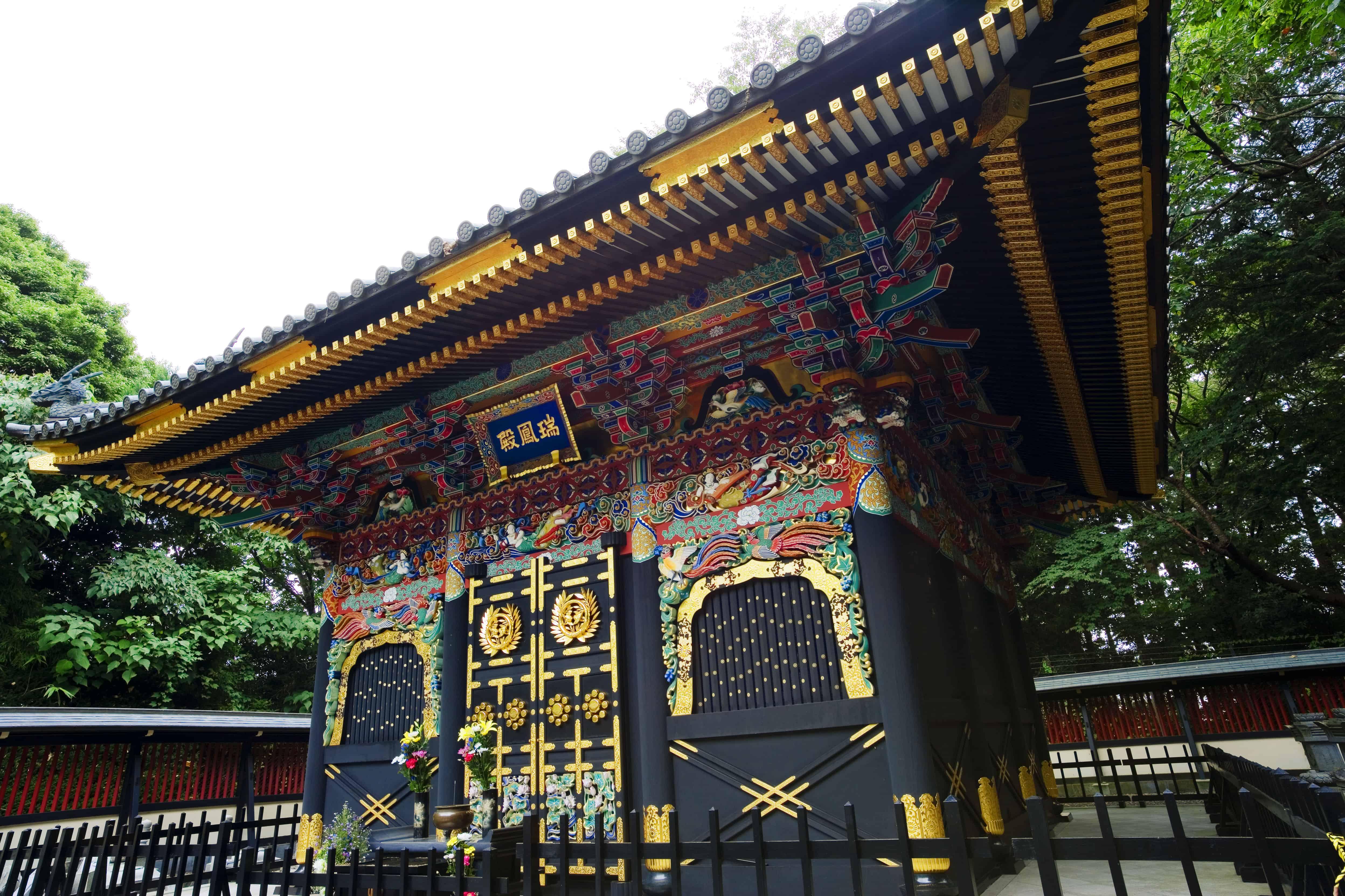 สุสานซุยโฮเด็ง (Zuihoden Mausoleum : 瑞鳳殿)