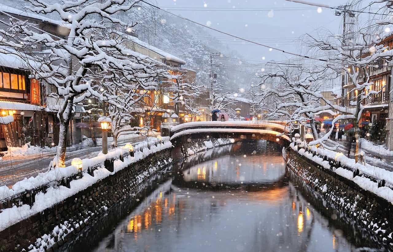 สถานที่ ขอแต่งงาน ญี่ปุ่น - คิโนะซากิออนเซ็น (Kinosaki Onsen)