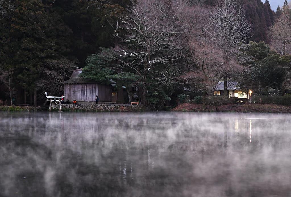 เที่ยวโออิตะ - ทะเลสาบคินริน (Lake Kinrin)